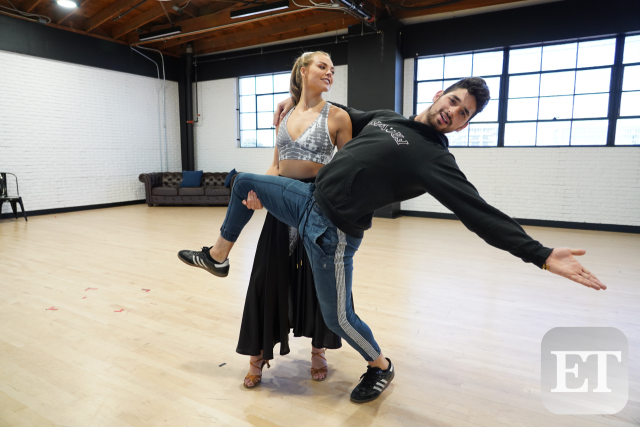 Alan Bersten and Hannah Brown
