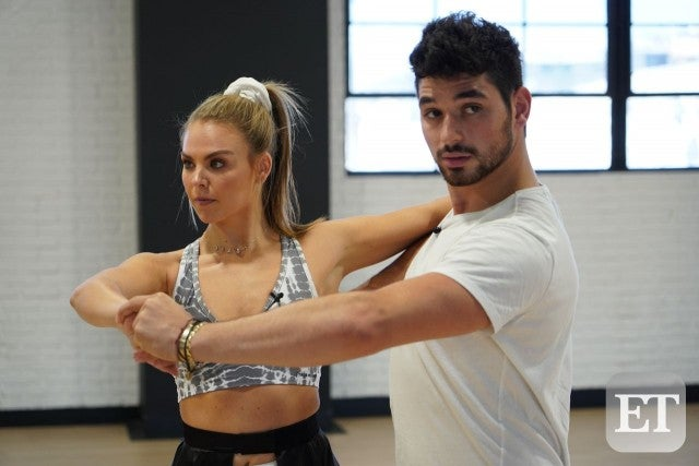 Alan Bersten and Hananh Brown DWTS