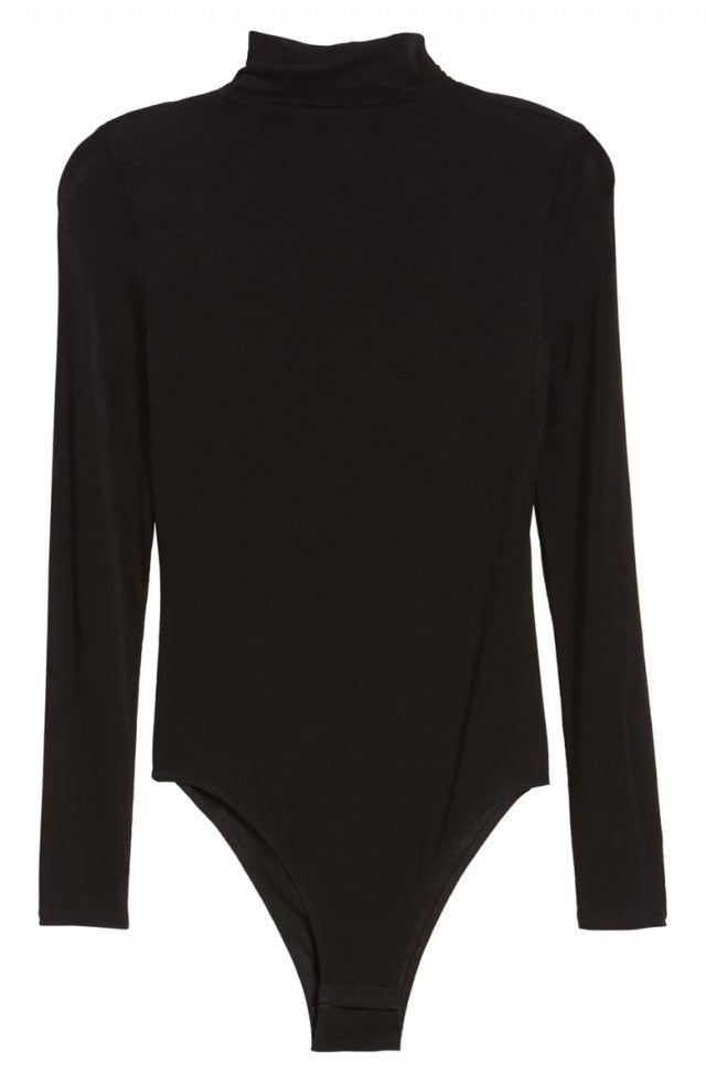 Leith Funnel Neck Bodysuit