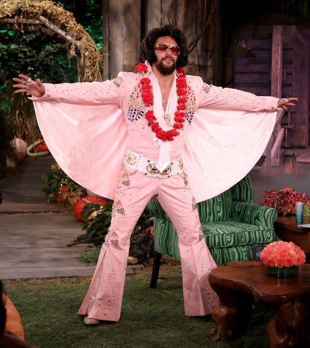Jason Momoa S Transformation Into Elvis Presley For