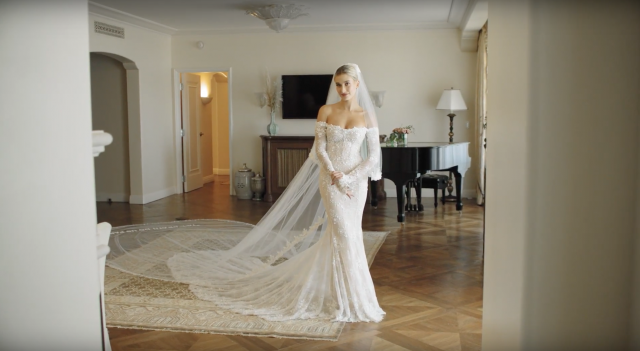 Secret Garden: See Hailey Bieber At Her Final Wedding Dress Fitting
