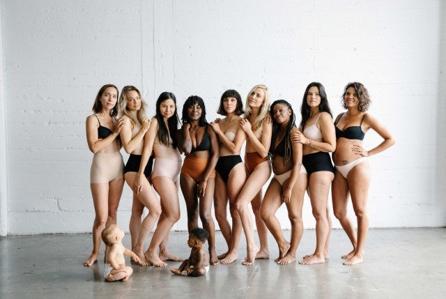 The Kit undergarments campaign image