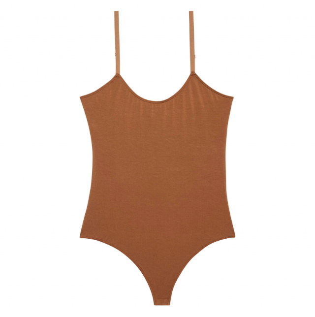 The Kit Spaghetti Strap Thong Bodysuit
