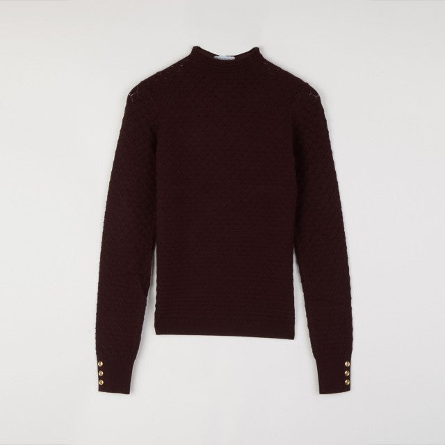 Warehouse Wave Pointelle Jumper