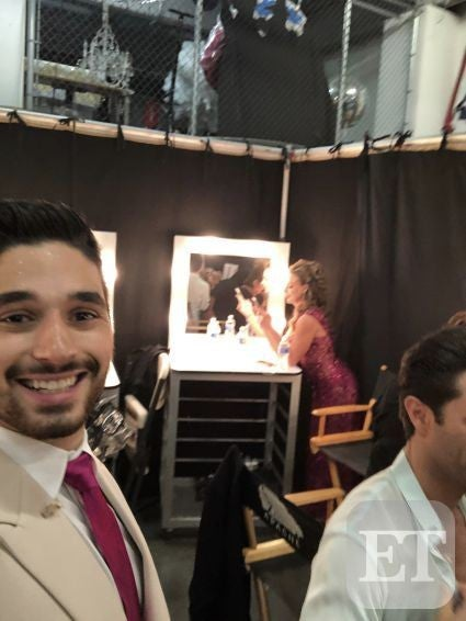 Alan Bersten BTS at DWTS