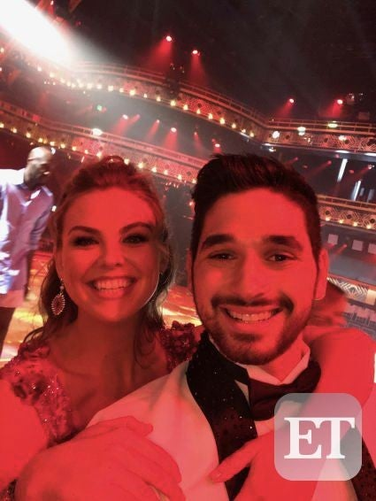 Alan Bersten & Hannah Brown at DWTS