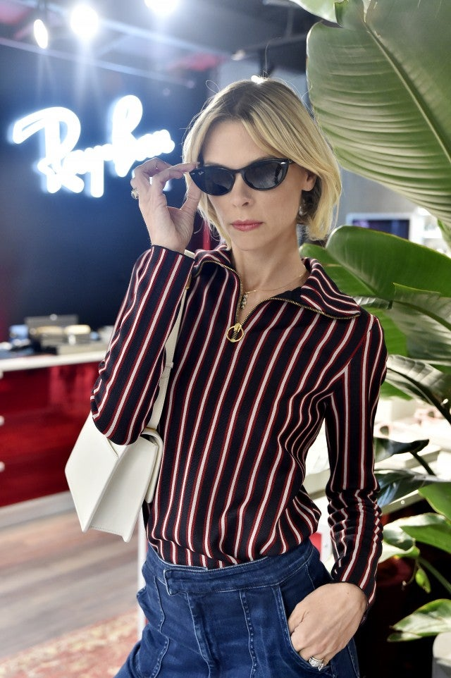 jaime king at rayban store in venice