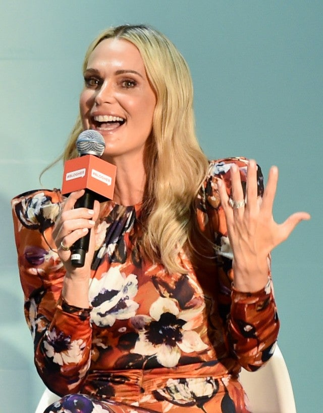 molly sims at blogher