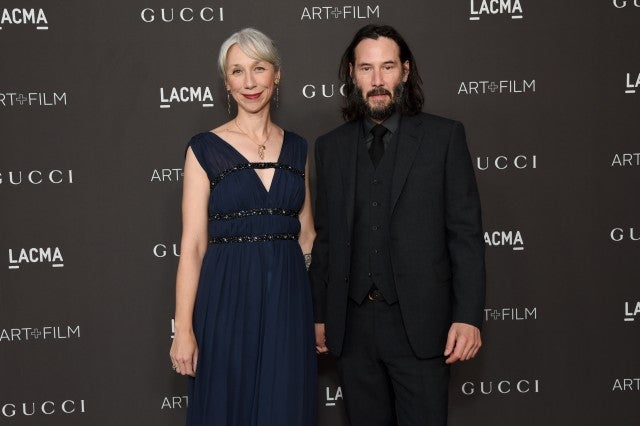 Keanu Reeves and his girlfriend make their romance 'red carpet official'