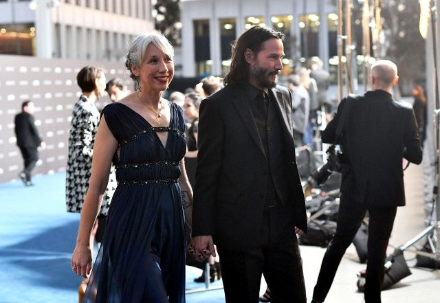 Keanu Reeves Is Allegedly Dating His Business Partner Alexandra Grant
