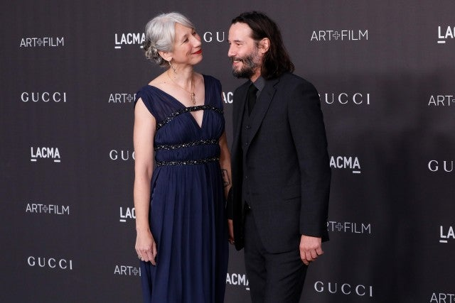 Keanu Reeves goes public with his love affair