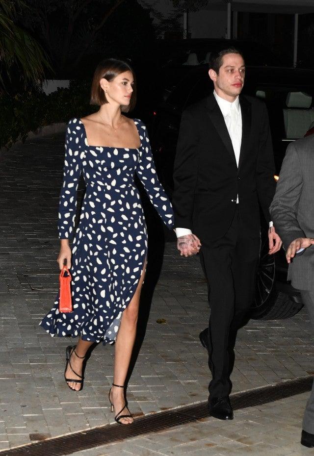 Peter Davidson And Kaia Gerber Dress Up For Friend S