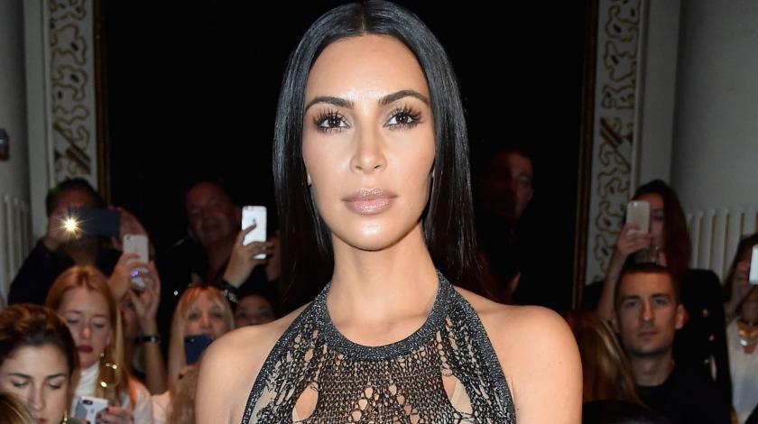 5aadf0e7e8 Kim Kardashian Manages to Make Bermuda Cut-Off Shorts Sexy by ...
