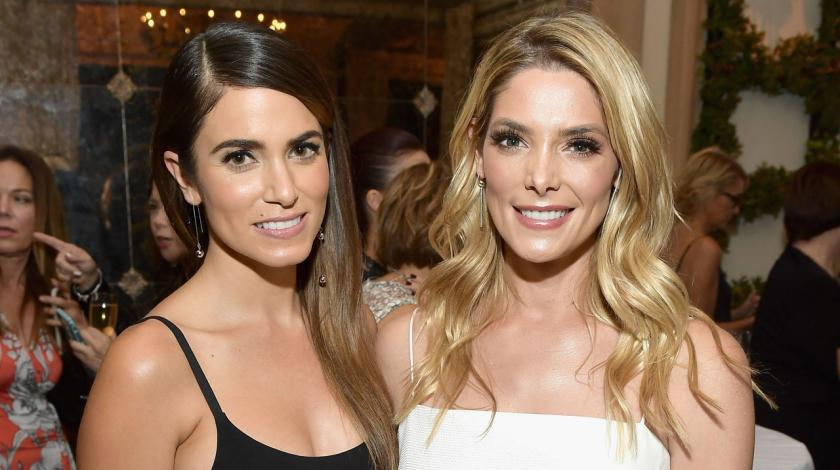 Ashley Greene and Nikki Reed