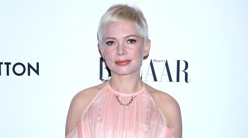 Michelle Williams in Louis Vuitton in NYC