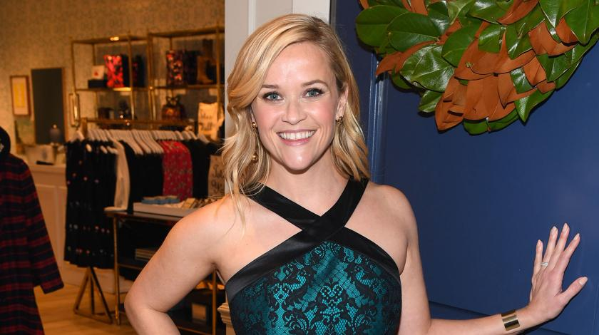 Reese Witherspoon at Draper James grand opening in Atlanta