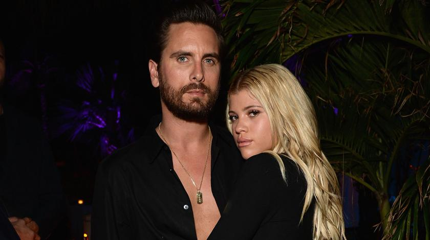 Scott Disick and Sofia Richie at Art Basel in Miami