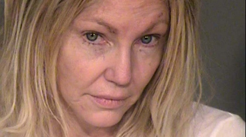 Heather Locklear's Mugshot -- Taken Feb. 25, 2018