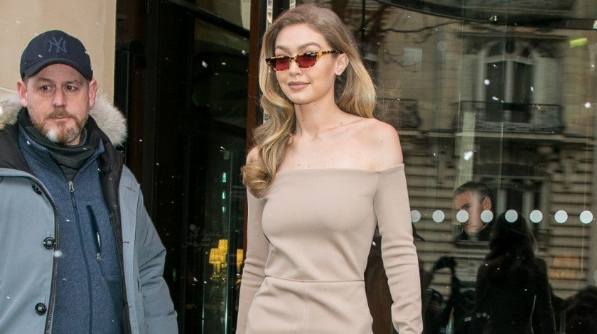Gigi Hadid in Paris
