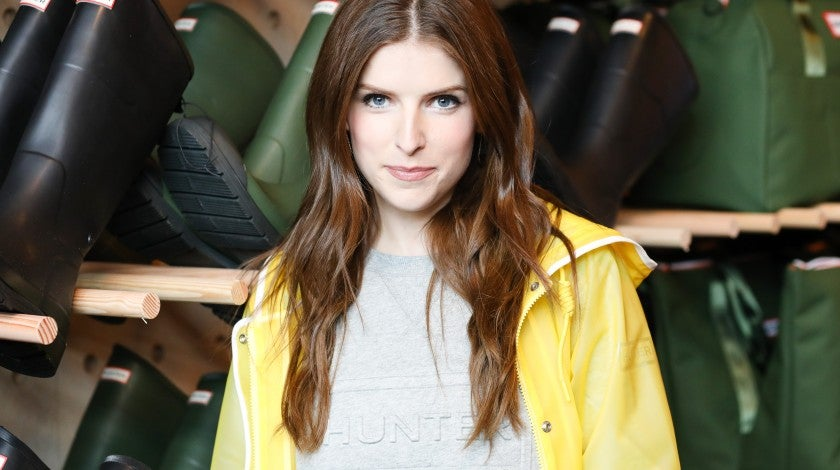 Anna Kendrick at Hunter for Target event