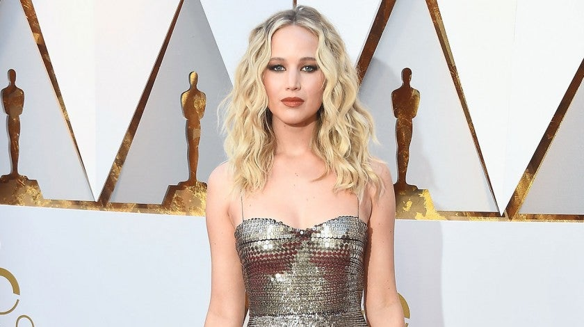 Jennifer Lawrence at 2018 Oscars