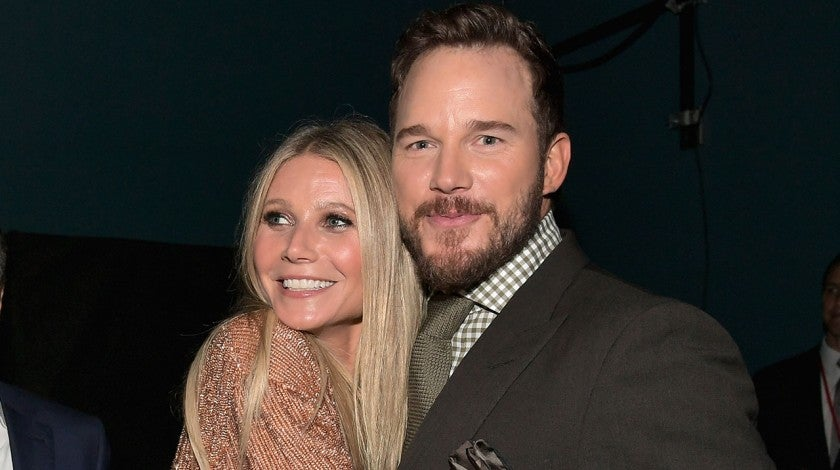 Gwyneth Paltrow and Chris Pratt