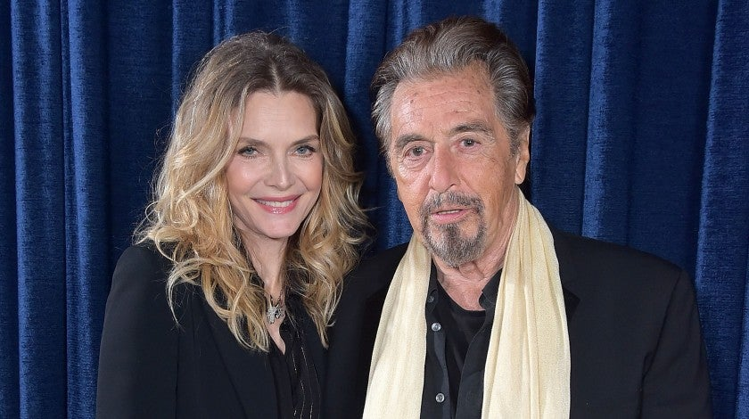 Michelle Pfeiffer and Al Pacino