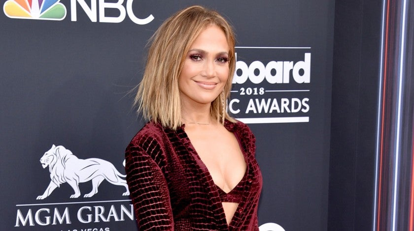 Jennifer Lopez at billboard awards 2018