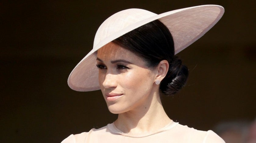 Meghan Markle at Buckingham Palace