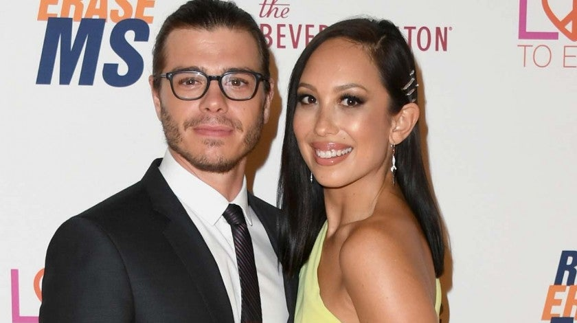 Cheryl Burke and Matthew Lawrence
