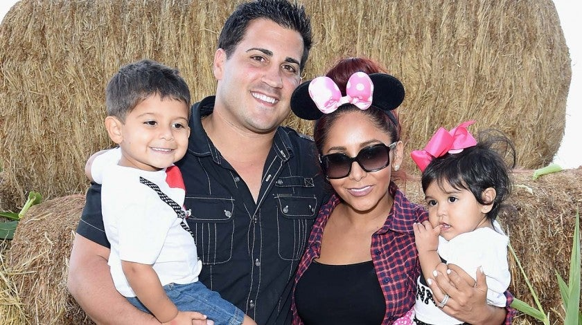 Nicole 'Snooki' Polizzi and husband Jionni LaValle