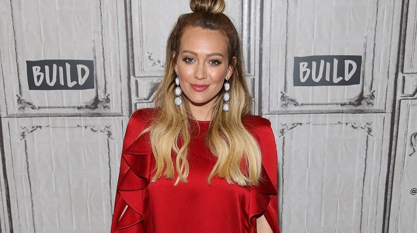 Hilary Duff at AOL BUILD