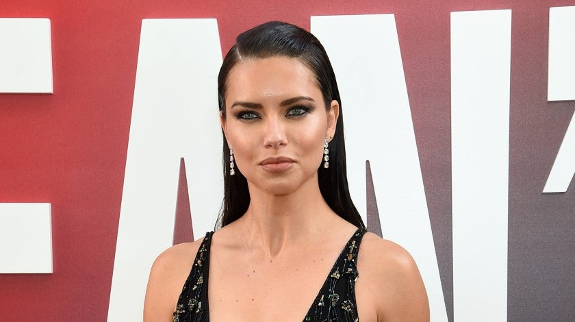 Adriana Lima at ocean's 8 world premiere