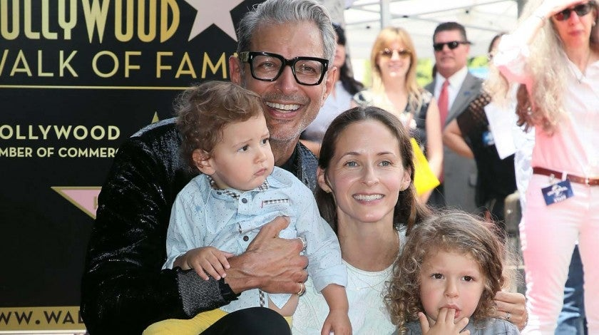 Jeff Goldblum and Family