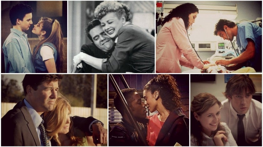 TV couples - gallery split