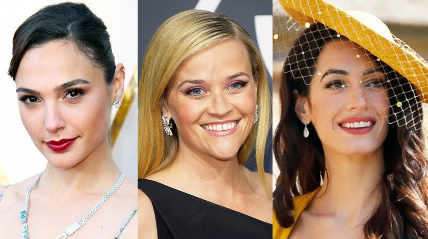 Exact Lipsticks Celebrities Wore Gal Gadot Reese Witherspoon Amal Clooney