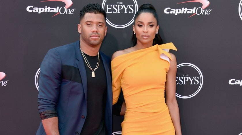 Russell Wilson and Ciara 2018 ESPYs