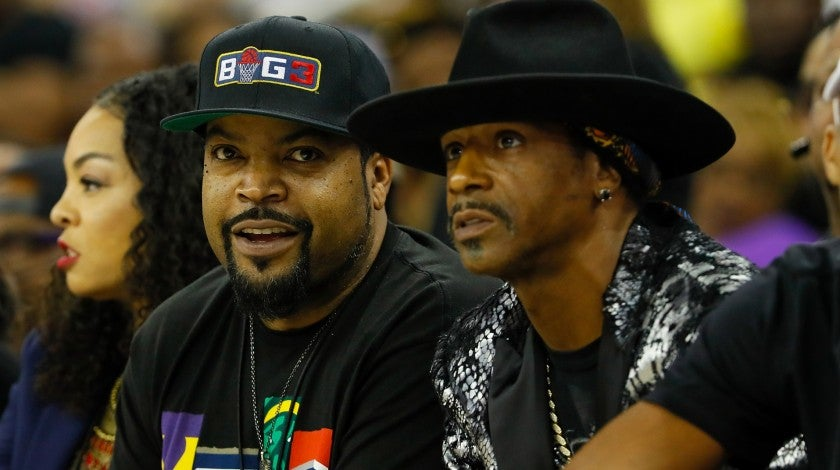Ice Cube, Katt Williams BIG3 game Atlanta