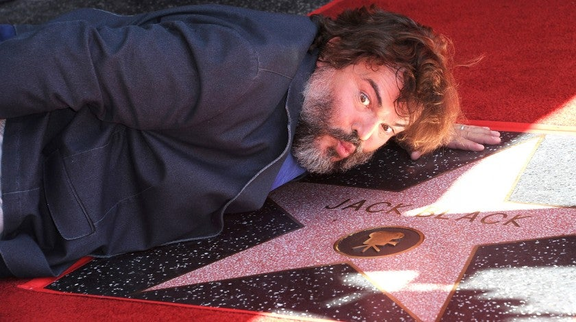 Jack Black Walk of Fame
