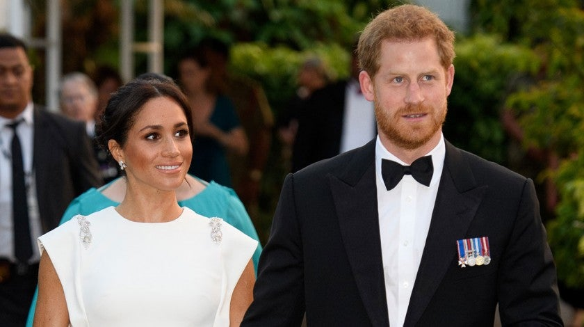 Meghan Markle and Prince Harry in Tonga day 1