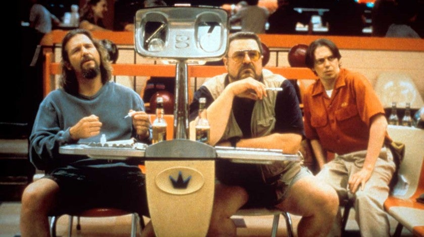 Jeff Bridges, John Goodman and Steve Buscemi in 'The Big Lebowski.'