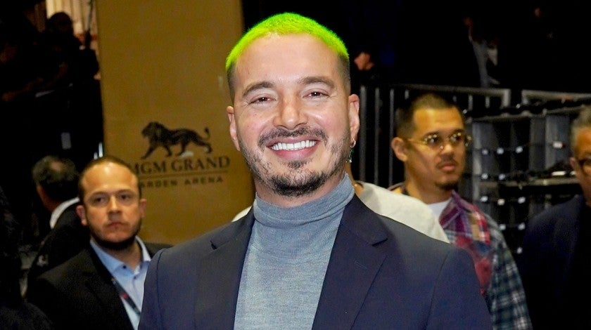 J Balvin at the 19th annual Latin GRAMMY Awards