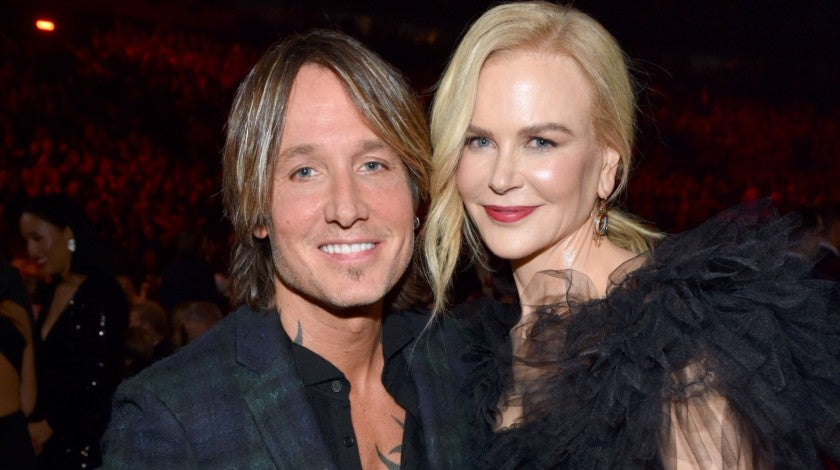 Keith Urban and Nicole Kidman at 2018 CMA Awards
