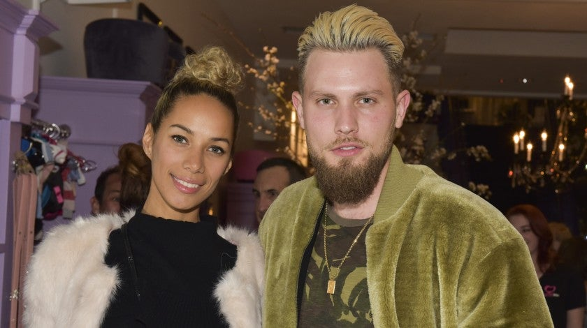 Leona Lewis and fiance in March 2017