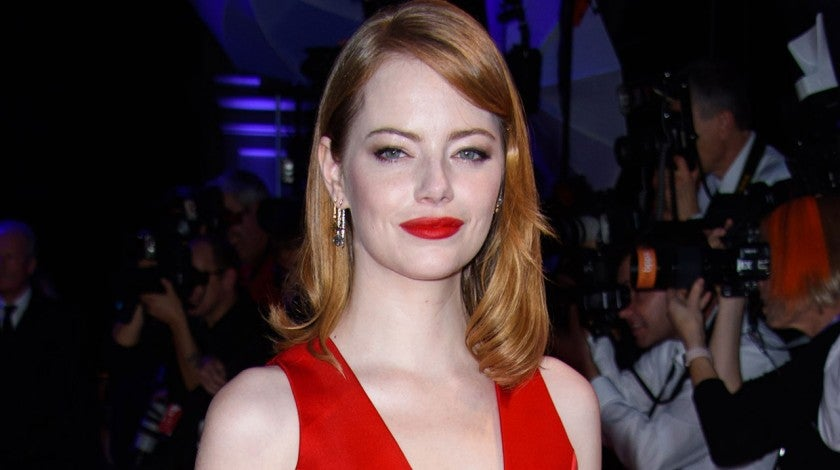 Emma Stone at British Independent Film Awards