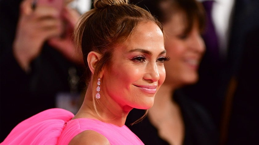 Jennifer Lopez at Second Act world premiere