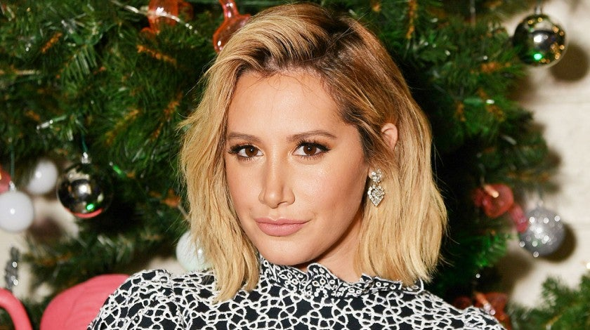 Ashley Tisdale at z100's jingle ball 2018