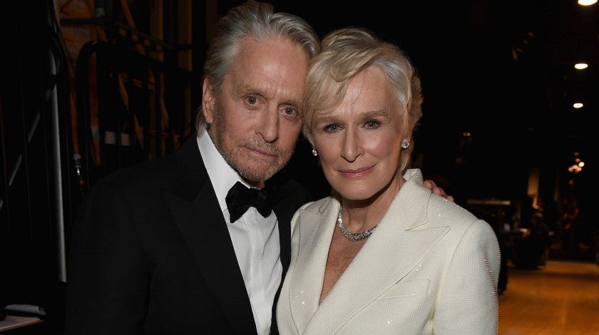 Michael Douglas and Glenn Close at the 2019 Screen Actors Guild Awards