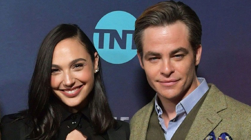 Gal Gadot and Chris Pine