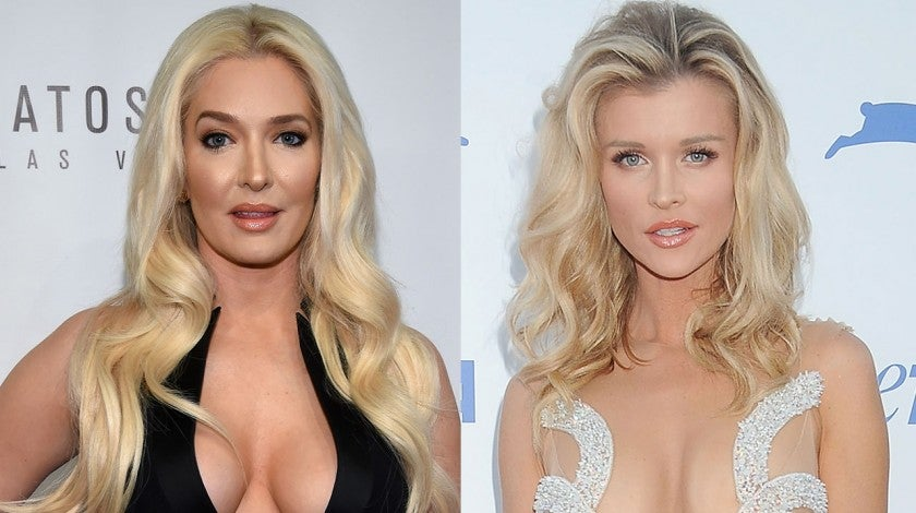 Erika Jayne and Joanna Krupa
